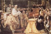 COELLO, Claudio Charles II Adoring the St Sacrament oil painting picture wholesale