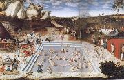 CRANACH, Lucas the Elder Fountain of Youth oil painting picture wholesale