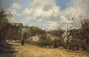 Camille Pissaro View from Louveciennes oil painting picture wholesale