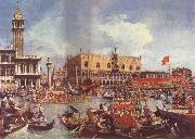 Canaletto The Bucintoro at the Molo on Ascension Day oil painting picture wholesale