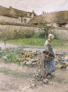 Carl Larsson October oil painting picture wholesale