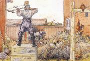 Carl Larsson The Manure Pile oil painting picture wholesale