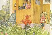 Carl Larsson Dressing Up oil painting picture wholesale