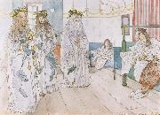 Carl Larsson For Karin-s Name-Day oil painting picture wholesale