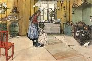 Carl Larsson The Kitchen oil painting picture wholesale