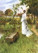 Carl Larsson The Bride oil painting picture wholesale