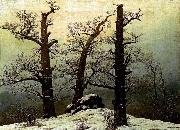 Caspar David Friedrich Dolmen in the Snow oil painting picture wholesale
