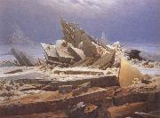 Caspar David Friedrich Te Sea of Ice oil painting picture wholesale