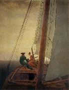 Caspar David Friedrich The Sailboat oil painting picture wholesale