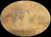Charles conder The Meeting oil painting picture wholesale