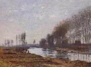 Claude Monet The Petit Bras of the Seine at Argenteuil oil painting picture wholesale