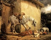 Claude-joseph Vernet The Wounded Trumpeter oil painting artist