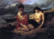 Delacroix Auguste The Natchez oil painting picture wholesale