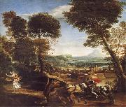Domenichino Saint George Killing the Dragon oil painting picture wholesale