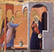 Duccio The Annunciation oil painting picture wholesale