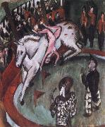 Ernst Ludwig Kirchner German,Circur Rider oil painting picture wholesale