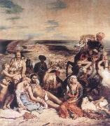 Eugene Delacroix Scenes from the Massacre at Chios oil painting picture wholesale