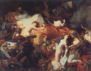 Eugene Delacroix Death of Sardanapalus oil painting picture wholesale
