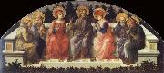 Fra Filippo Lippi Seven Saints oil painting picture wholesale