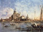 Francesco Guardi Venice The Punta della Dogana with S.Maria della Salute oil painting picture wholesale