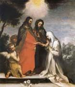 Francesco Vanni The marriage mistico of Holy Catalina of Sienna oil painting artist