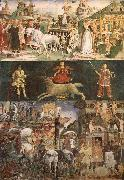 Francesco del Cossa The month March oil painting artist
