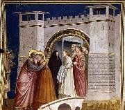GIOTTO di Bondone Meeting at the Golden Gate oil painting picture wholesale