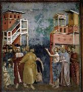 GIOTTO di Bondone Renunciation of Wordly Goods oil painting picture wholesale