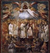 GIOTTO di Bondone Death and Ascension of St Francis oil painting picture wholesale