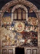 GIOTTO di Bondone Last Judgment oil painting