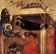 GIOTTO di Bondone The Epiphany oil painting