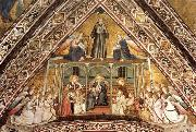 GIOTTO di Bondone Allegory of Obedience oil painting picture wholesale
