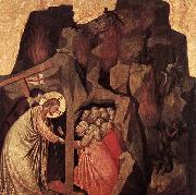 GIOTTO di Bondone Descent into Limbo oil painting