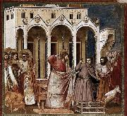 GIOTTO di Bondone Expulsion of the Money-changers from the Temple oil painting picture wholesale