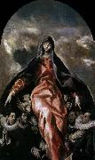 GRECO, El The Madonna of Charity oil painting picture wholesale