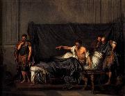 GREUZE, Jean-Baptiste Septimius Severus and Caracalla oil painting picture wholesale