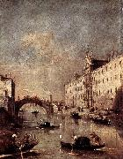 GUARDI, Francesco Rio dei Mendicanti oil painting picture wholesale