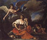 GUERCINO The Angel Appearing to Hagar and Ishmael oil painting picture wholesale