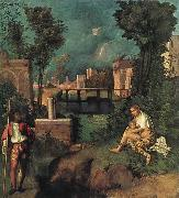 Giorgione Tempest oil painting picture wholesale
