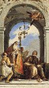 Giovanni Battista Tiepolo Saints Maximus and Oswald oil painting picture wholesale