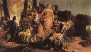 Giovanni Battista Tiepolo The Finding of Moses oil painting picture wholesale