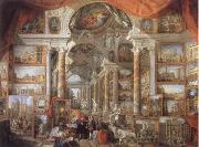 Giovanni Paolo Pannini Picture Gallery with views of Modern Rome oil painting picture wholesale