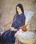 Gwen John The Convalescent oil painting artist