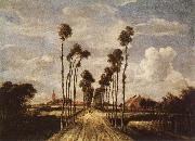 HOBBEMA, Meyndert The avenue in Middelharnis oil painting picture wholesale