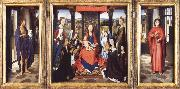 Hans Memling The Virgin and Child with Angels,Saints and Donors oil painting picture wholesale