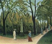 Henri Rousseau The Chopin Memorial in the Luxembourg Garden oil painting picture wholesale