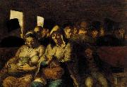Honore  Daumier The Third-class Carriage oil painting picture wholesale