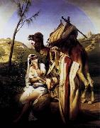 Horace Vernet Jehuda and Tamar oil painting picture wholesale