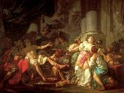 Jacques-Louis  David The Death of Seneca oil painting picture wholesale