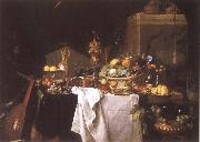 Jan Davidz de Heem Still-life with Dessert oil painting picture wholesale